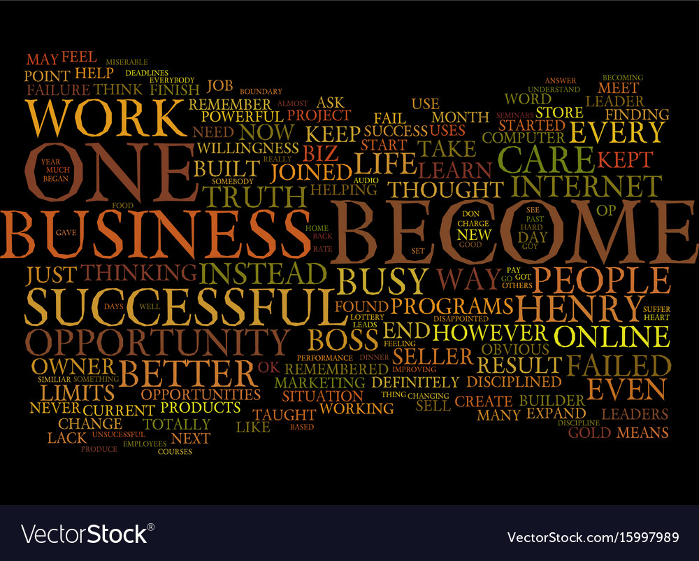 Are you the boss or the employee of your business