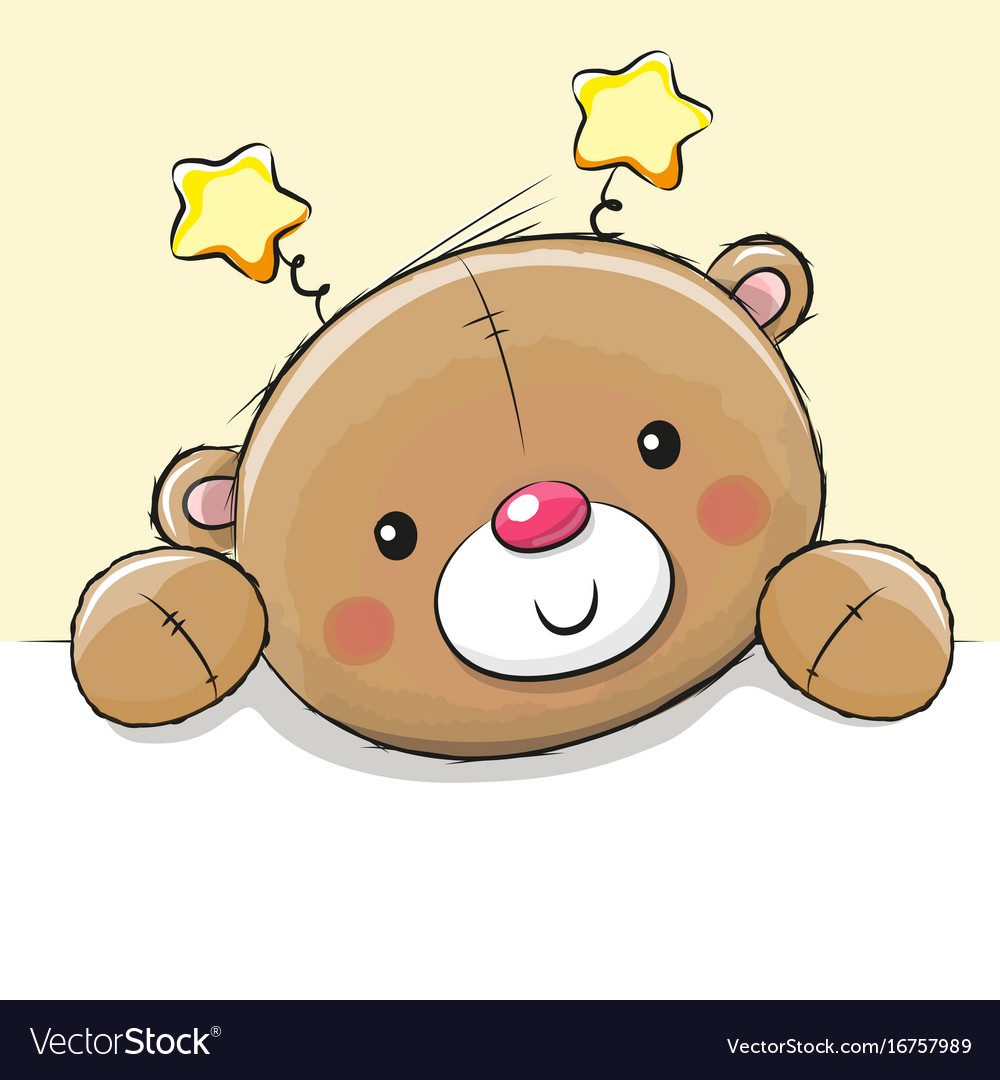 Cute drawing teddy bear royalty free vector image cute drawing teddy bear vector image altavistaventures Image collections