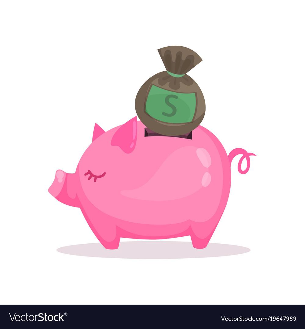 Pink piggy bank images