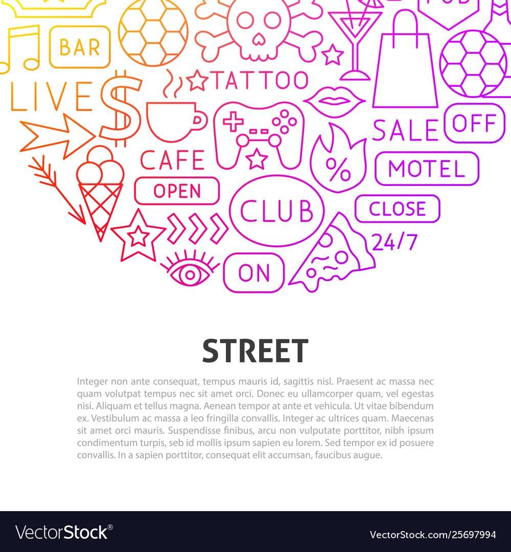 Street line concept