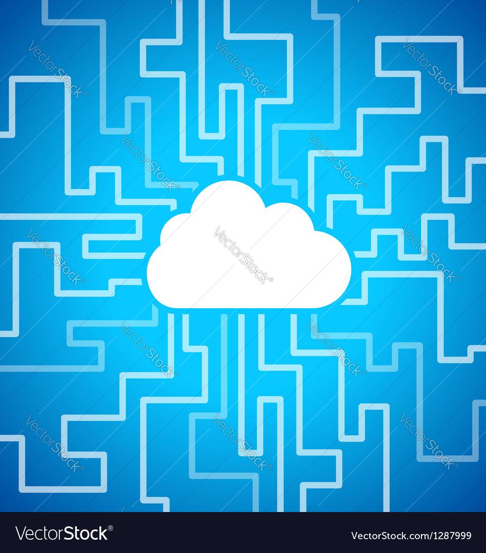 Cloud computing theme