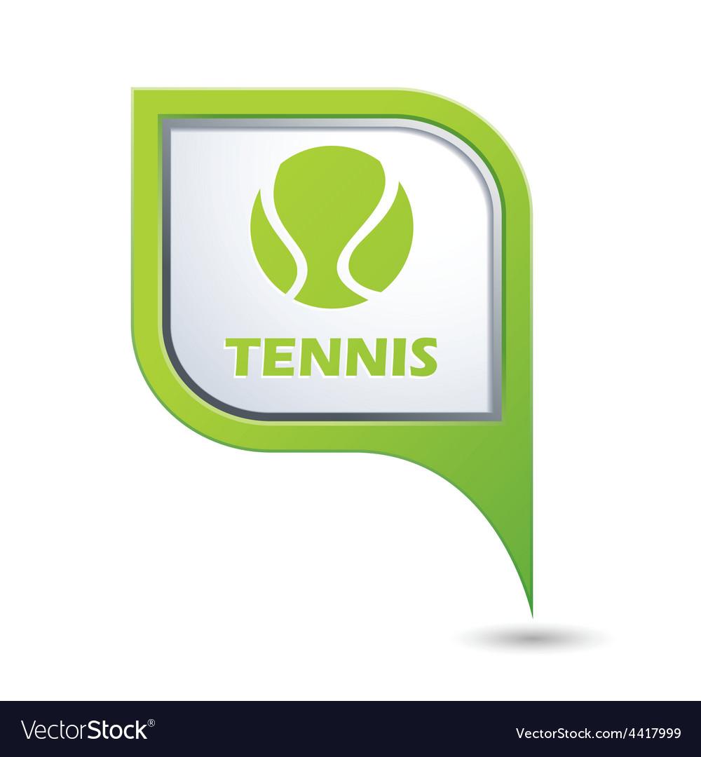 Tennis GREEN pointer