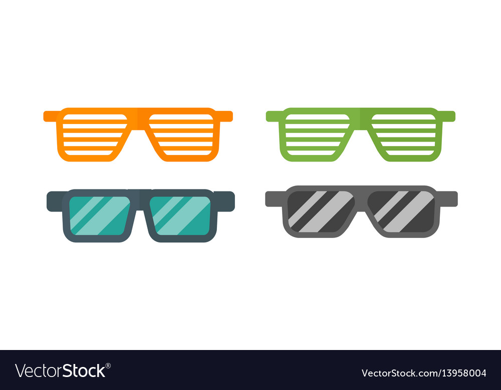 Fashion set sunglasses retro accessory vintage