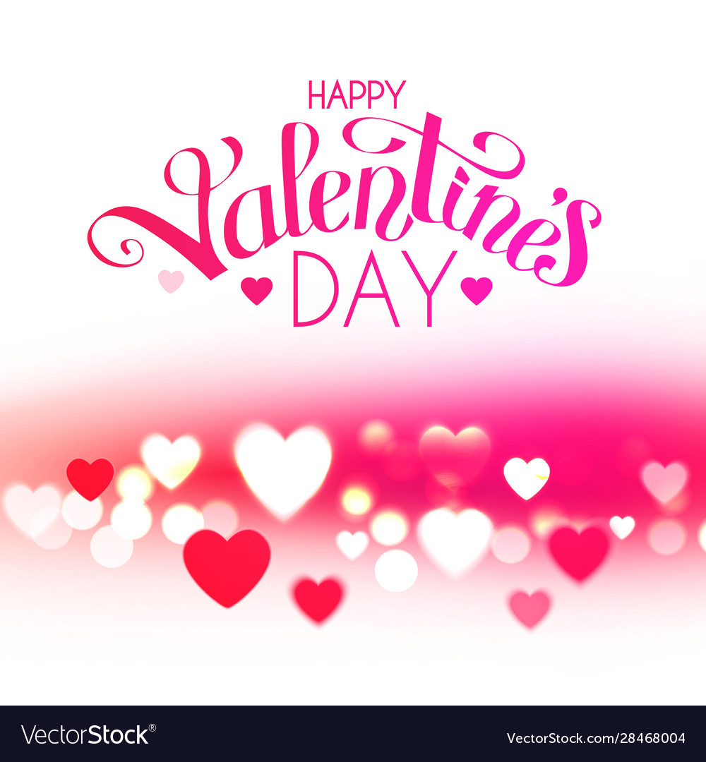 Happy valentine s day feelings and love design