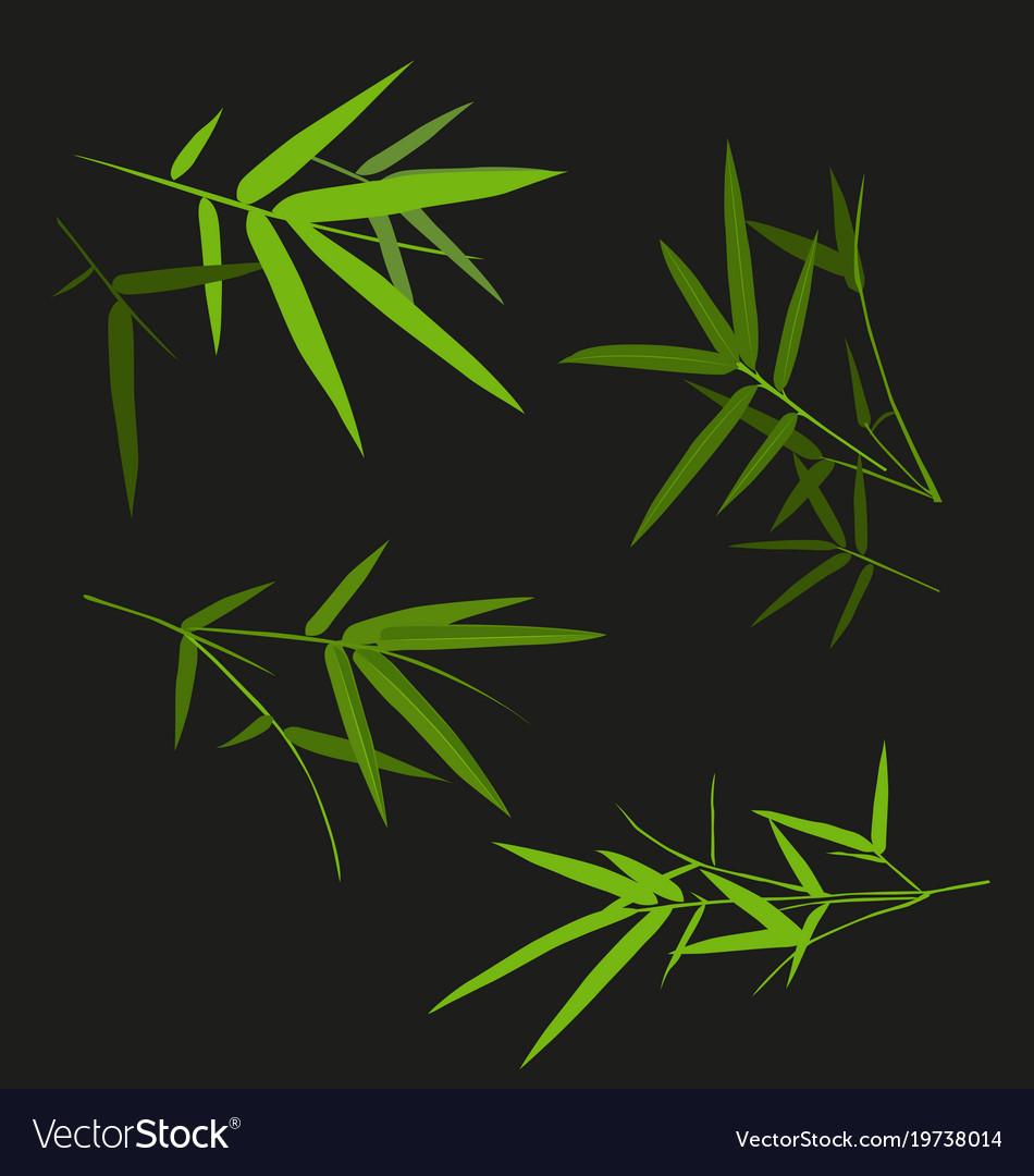 Bamboo leaf set