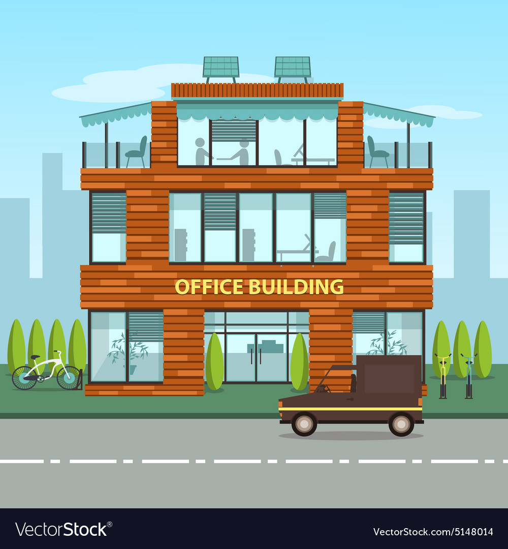 modern office building. Modern Office Building
