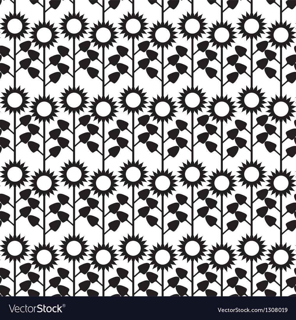 Flower sunlower pattern