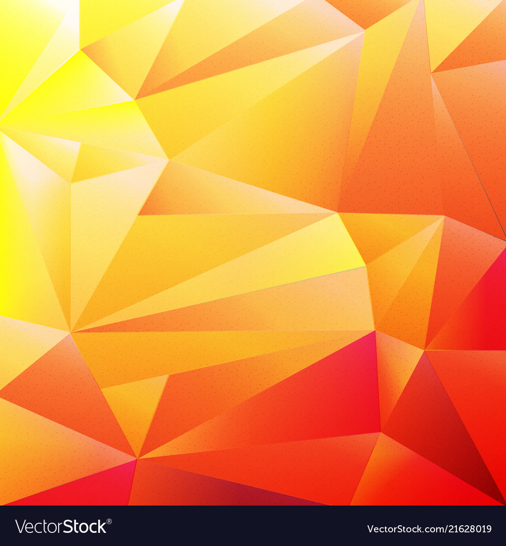 Orange colorful origami background