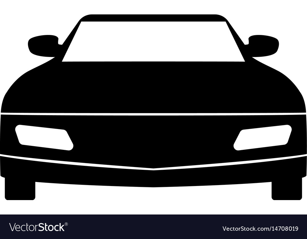 The machine the black color icon vector image
