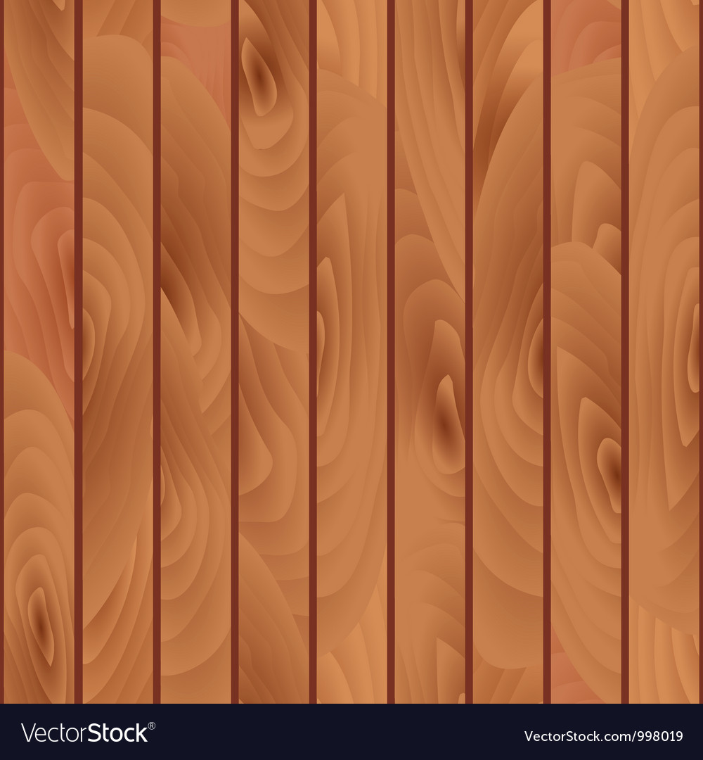 Wooden Seamless Pattern vector image