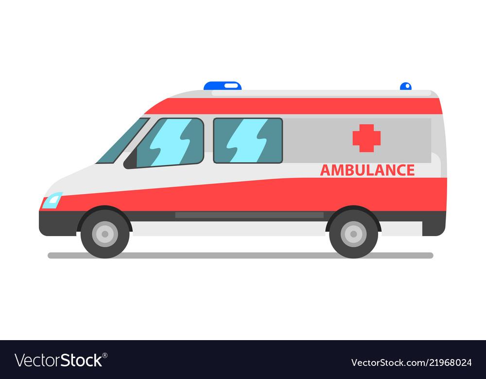 Ambulance van emergency medical service vehicle