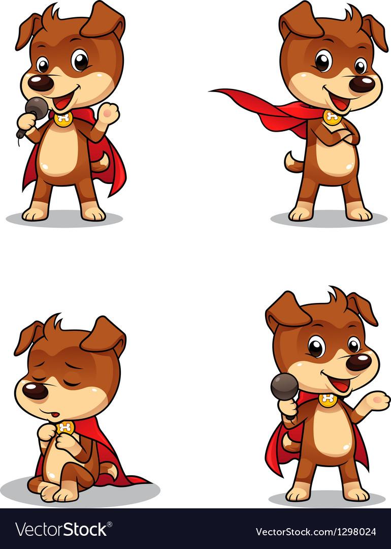 Superhero Puppy Dog 01