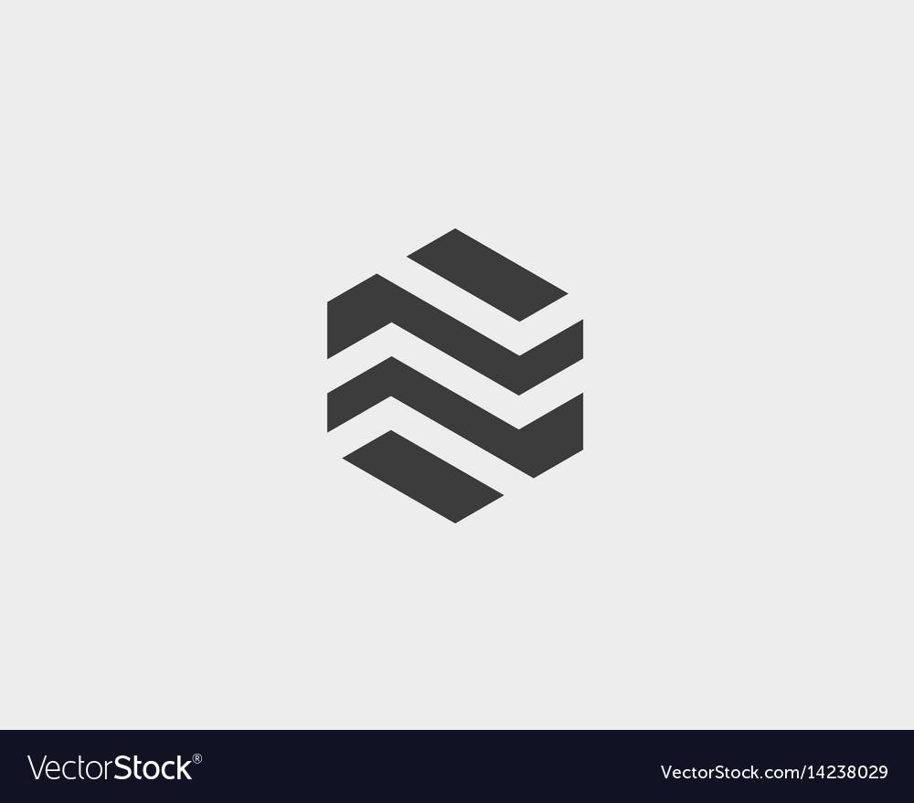 Abstract business premium logo design template