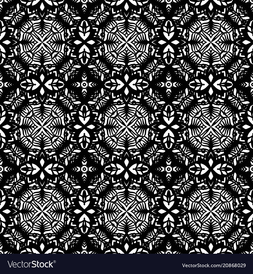 Intricate lace pattern background