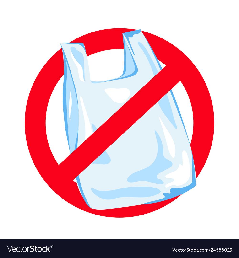 No plastic ecological environmental pollution