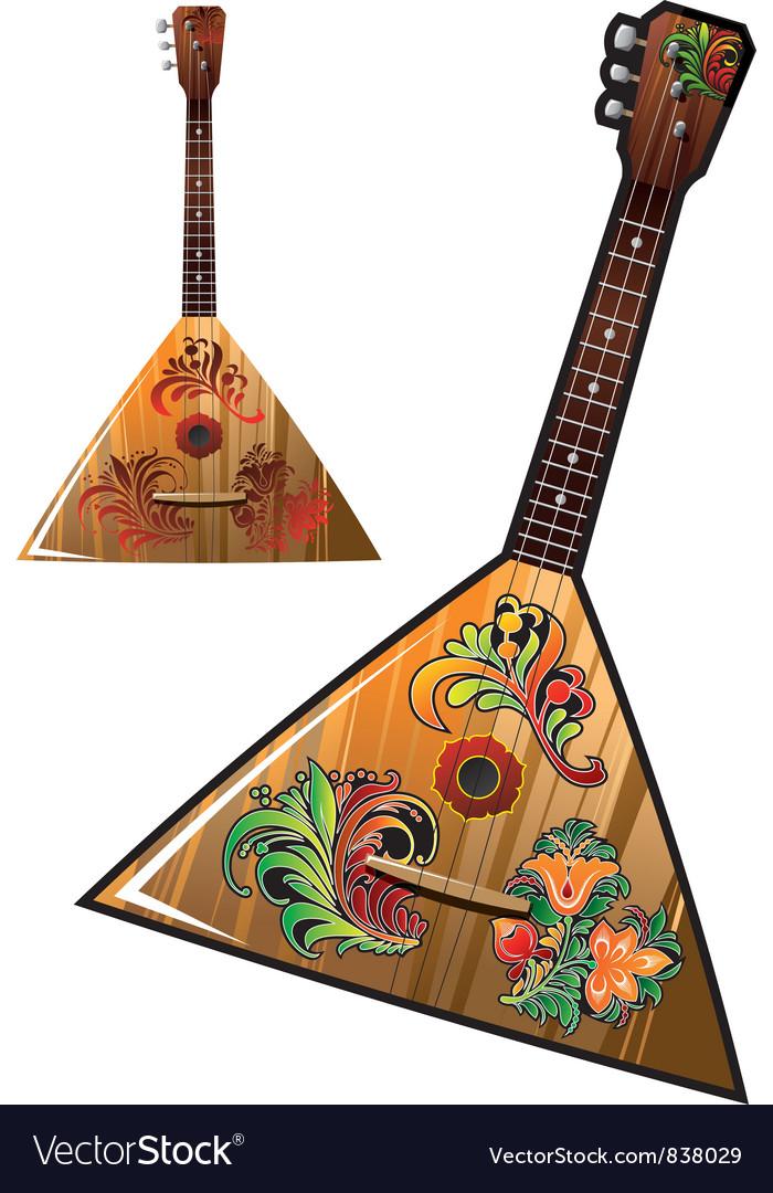 Russian national music instrument - balalaika
