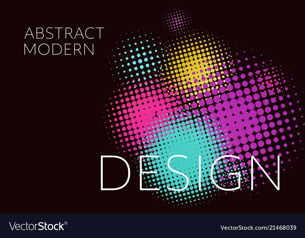 Colorful background abstract minimalistic