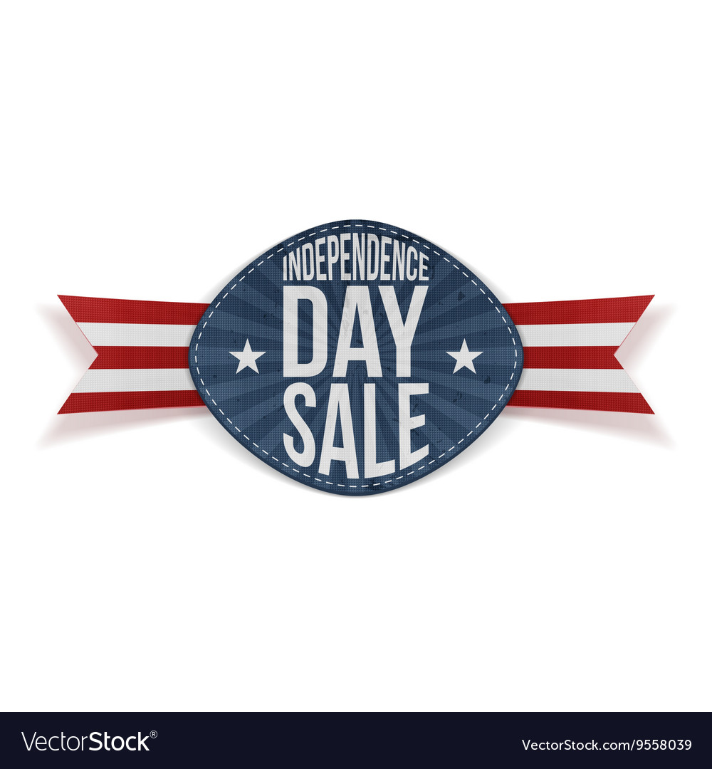 Independence Day Sale scratched Banner
