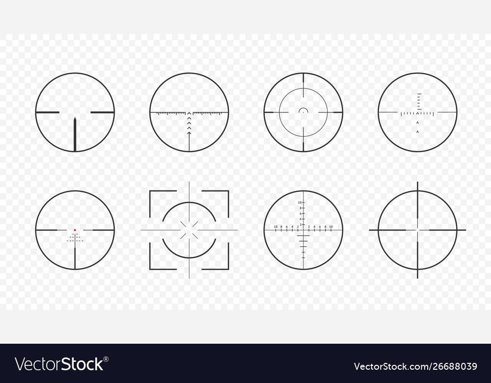 Set aim scopes