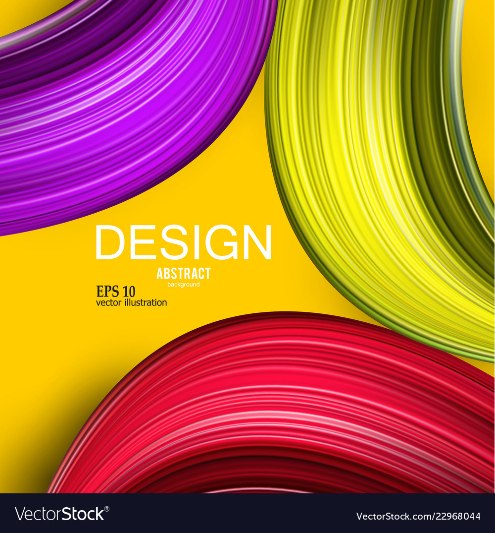 Abstract background colorful curve imag