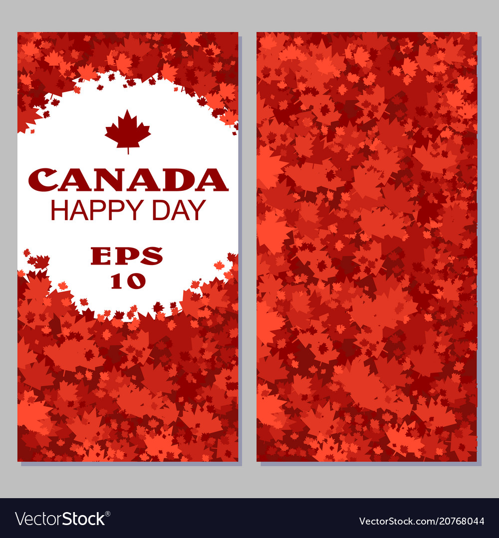 Canada flag with fireworks for celebrate the
