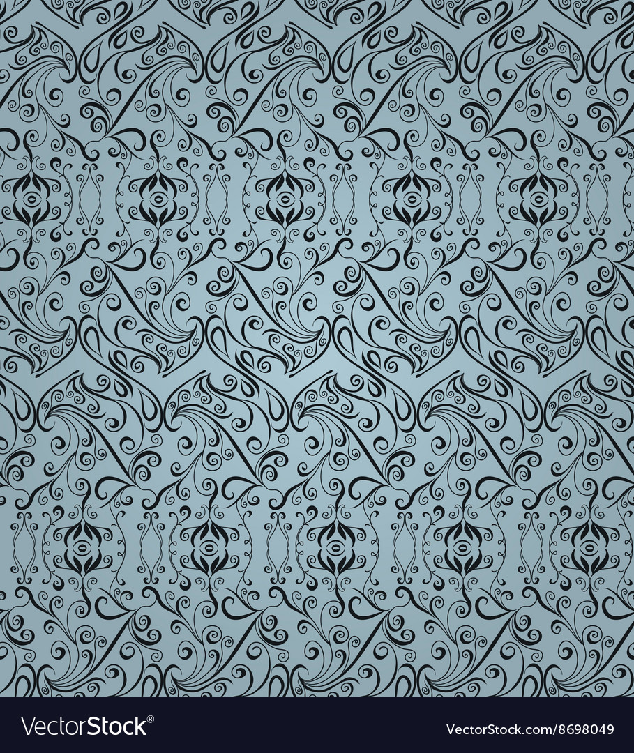 Abstract seamless pattern floral style
