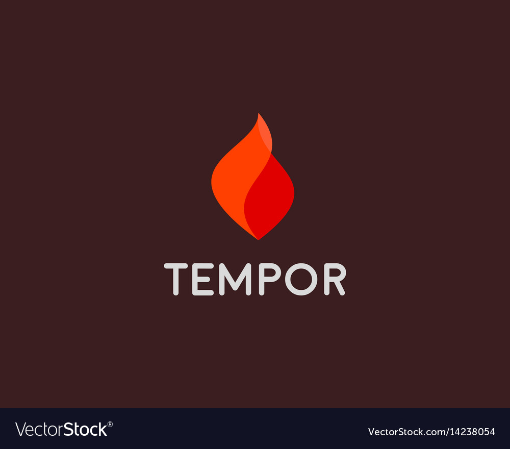 Fire grill logo symbol design flame icon vector image