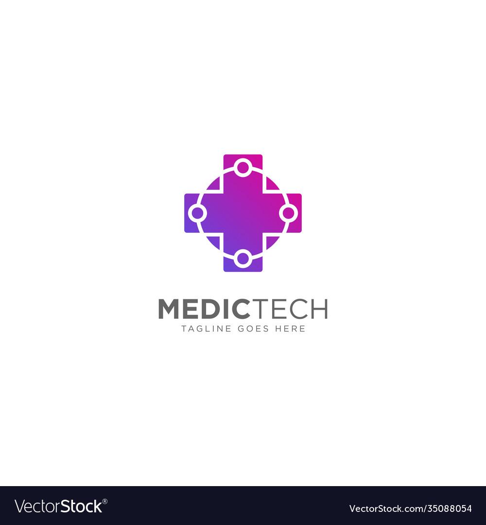Medical technology logo design