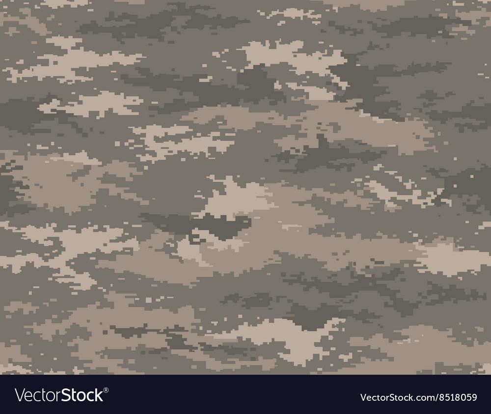 Pixel camouflage army universal seamless pattern