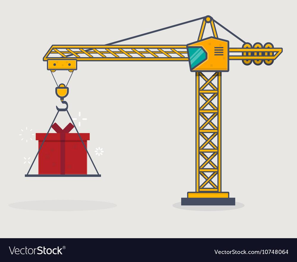 Line crane
