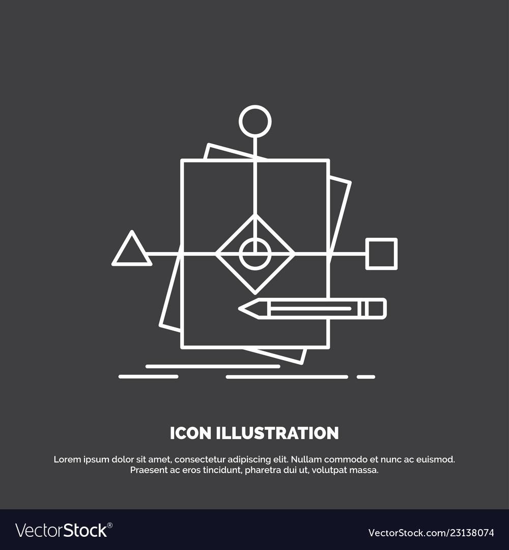 Algorithm business foretelling pattern plan icon
