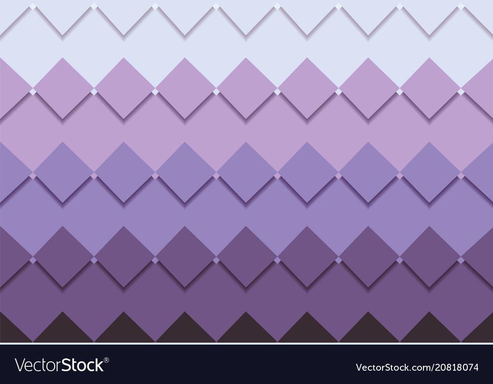 Square mosaic background corner design