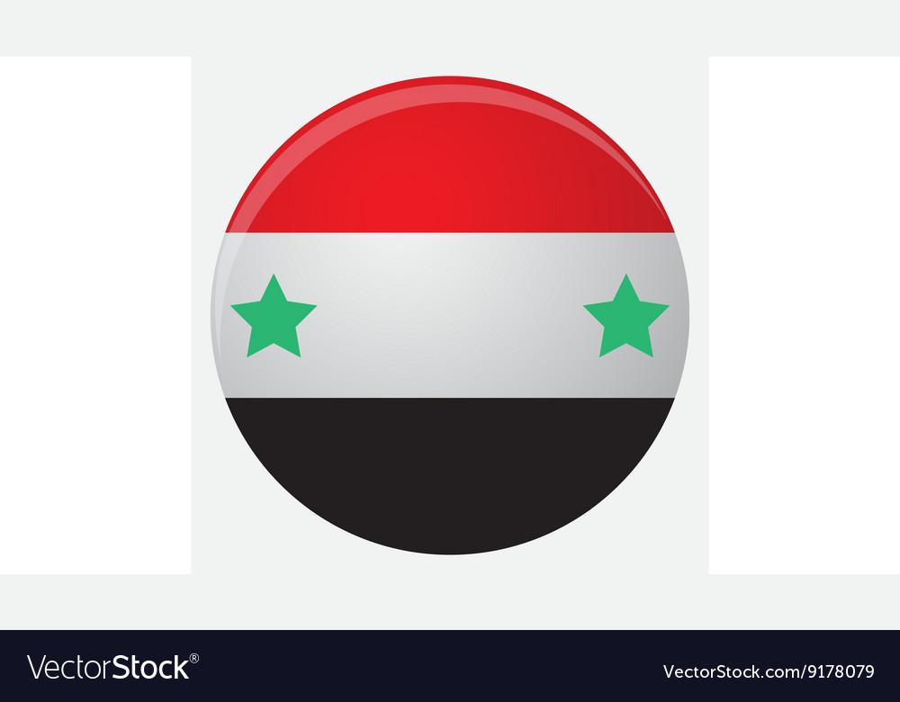 Syria flag icon flat