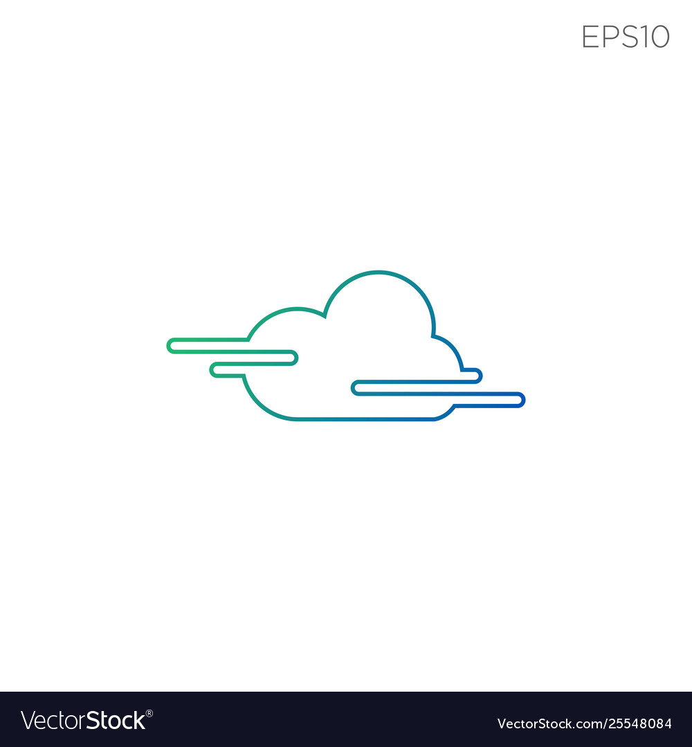 Cloud icon technology symbol icon isolated