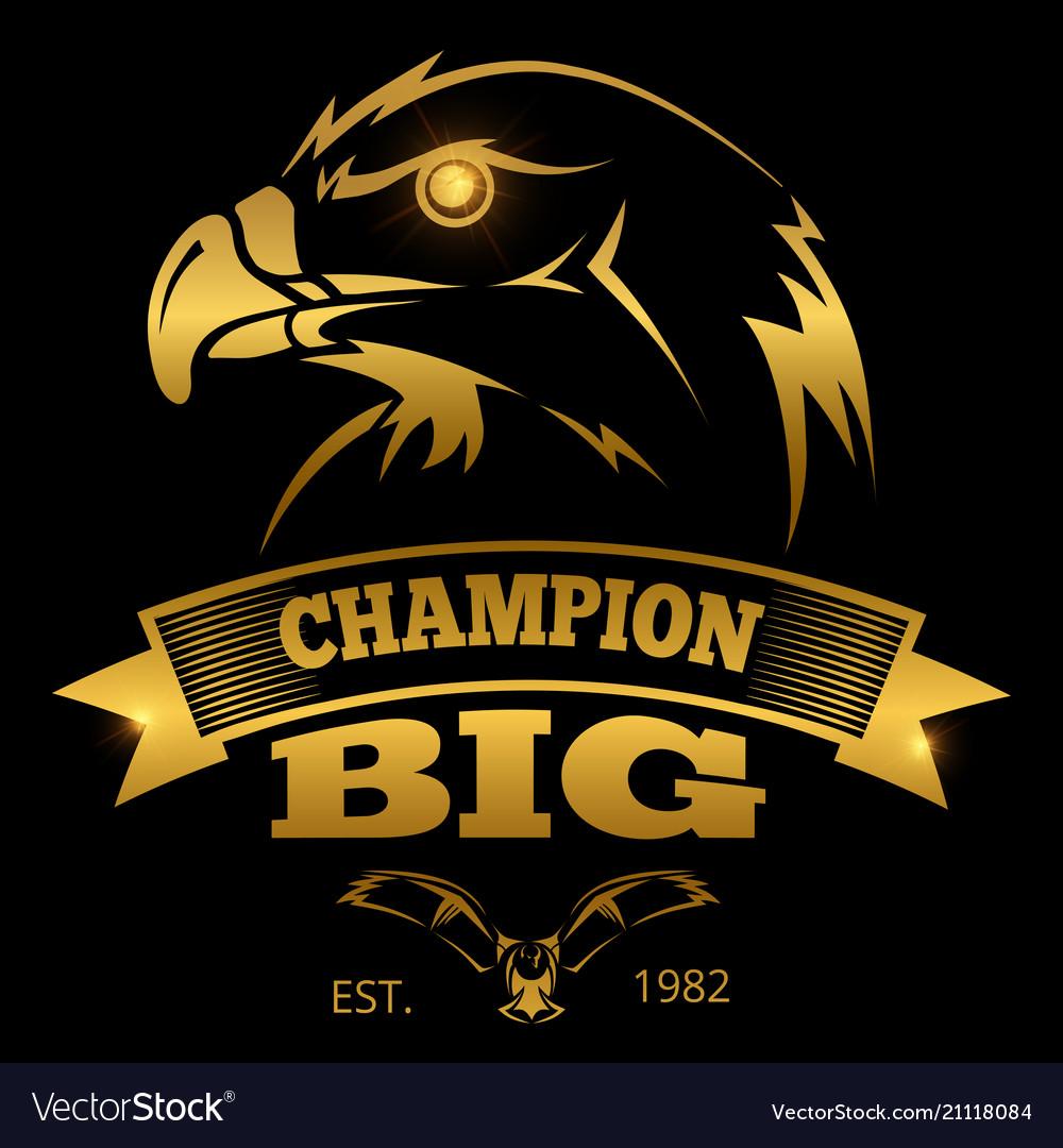 Eagle heraldry labels logos emblems