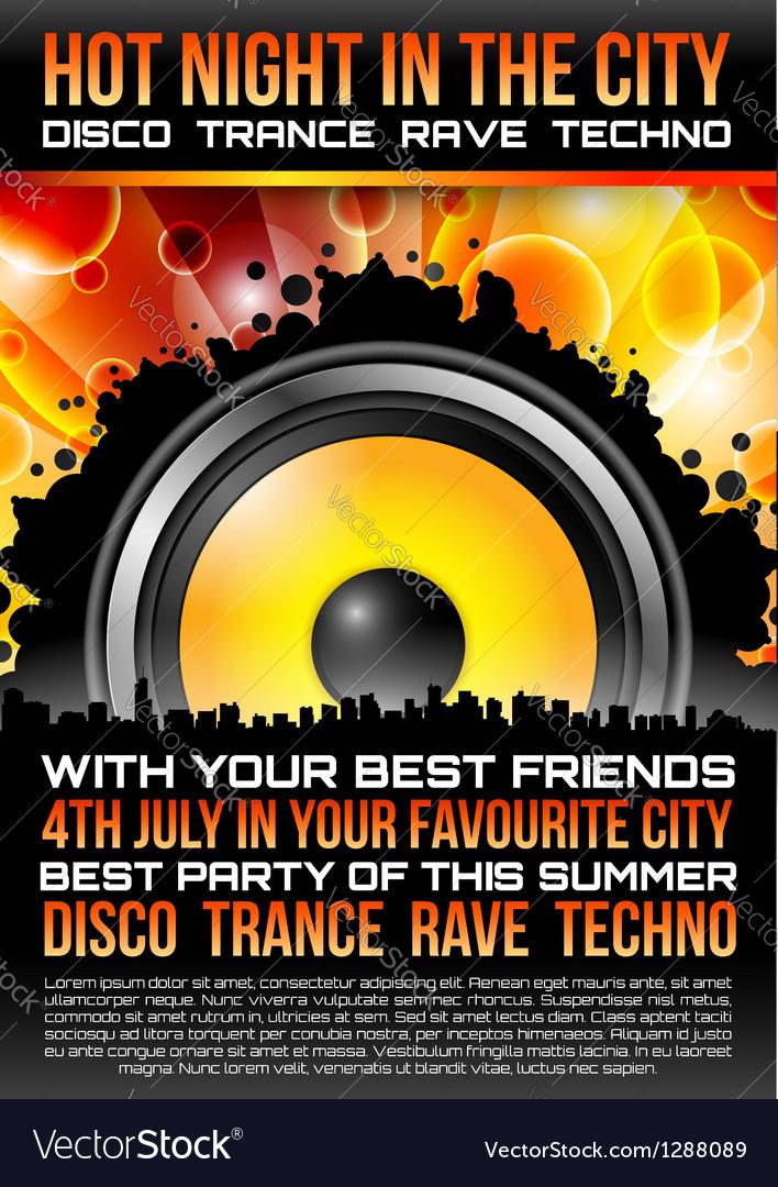 Disco Theme with speaker