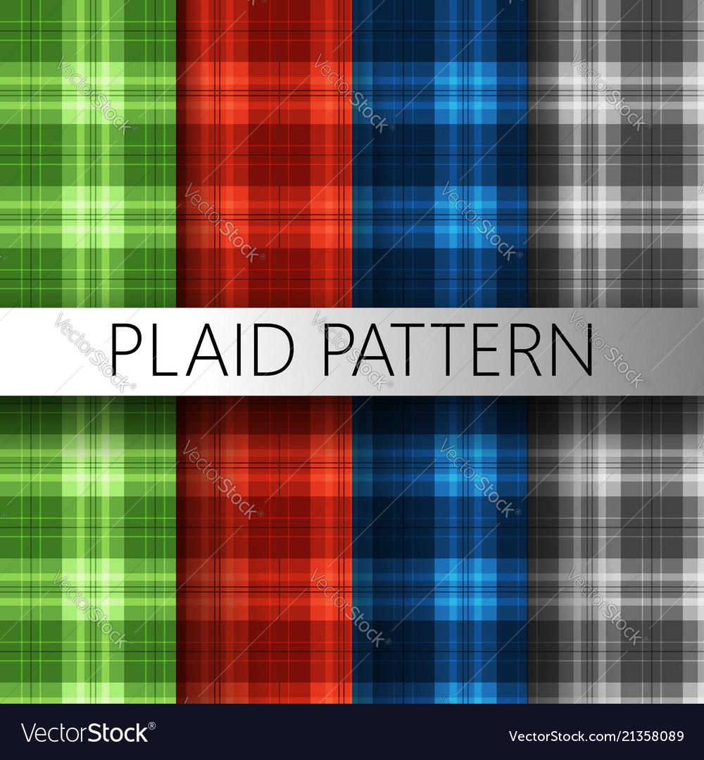 Plaid pattern texture