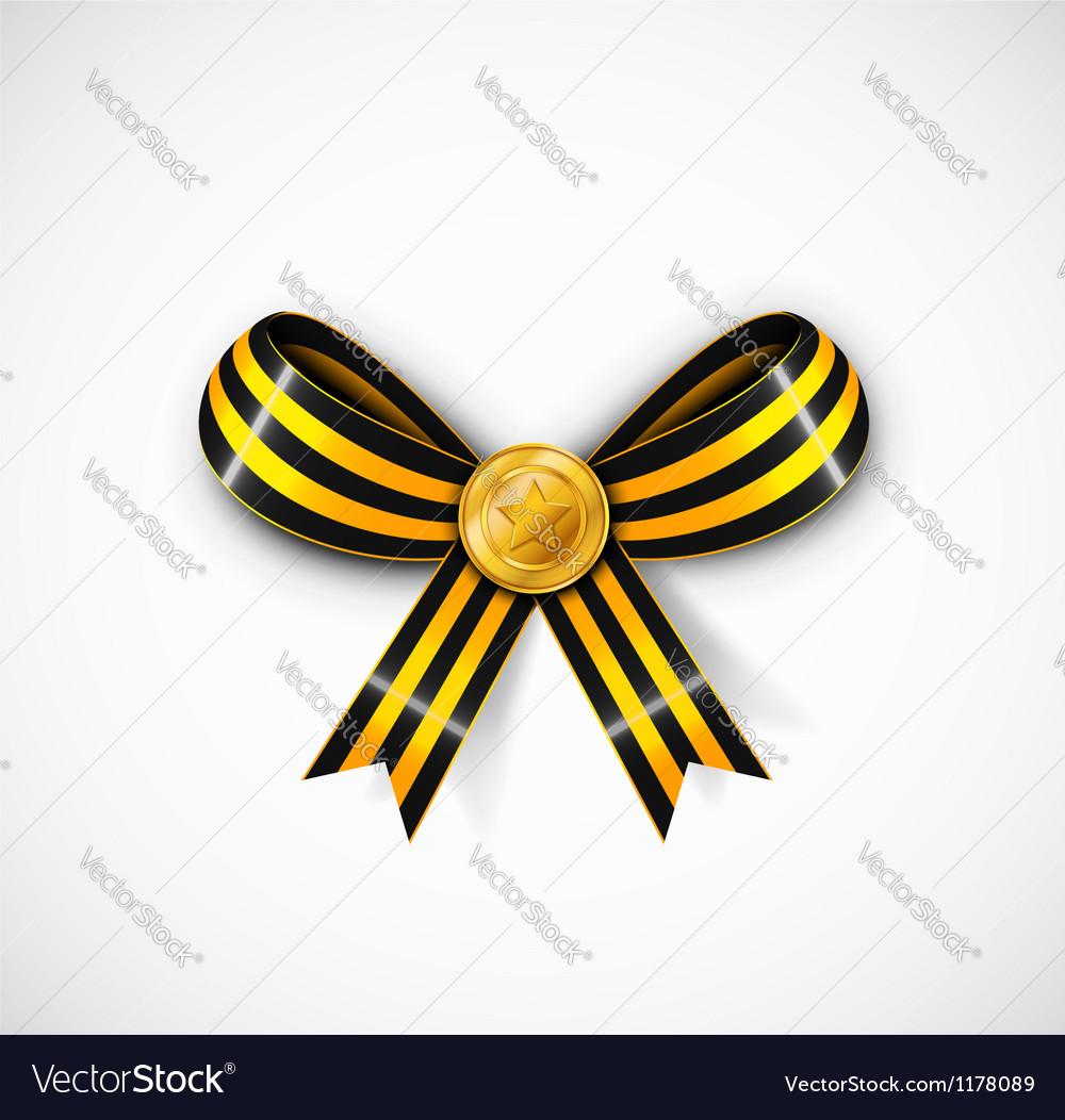 St George ribbon vector image
