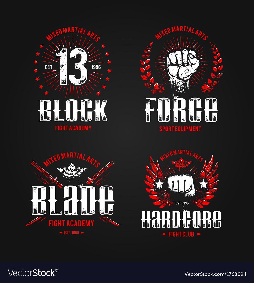 Grunge Fightclub Prints 1