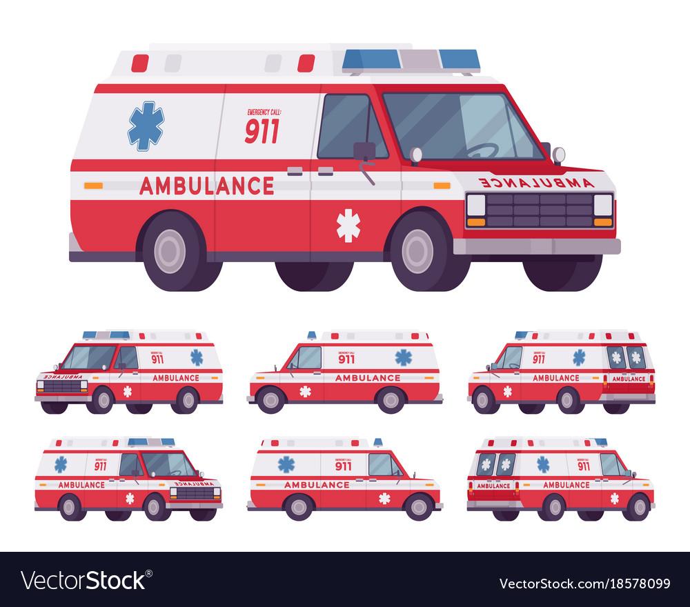 Ambulance car van