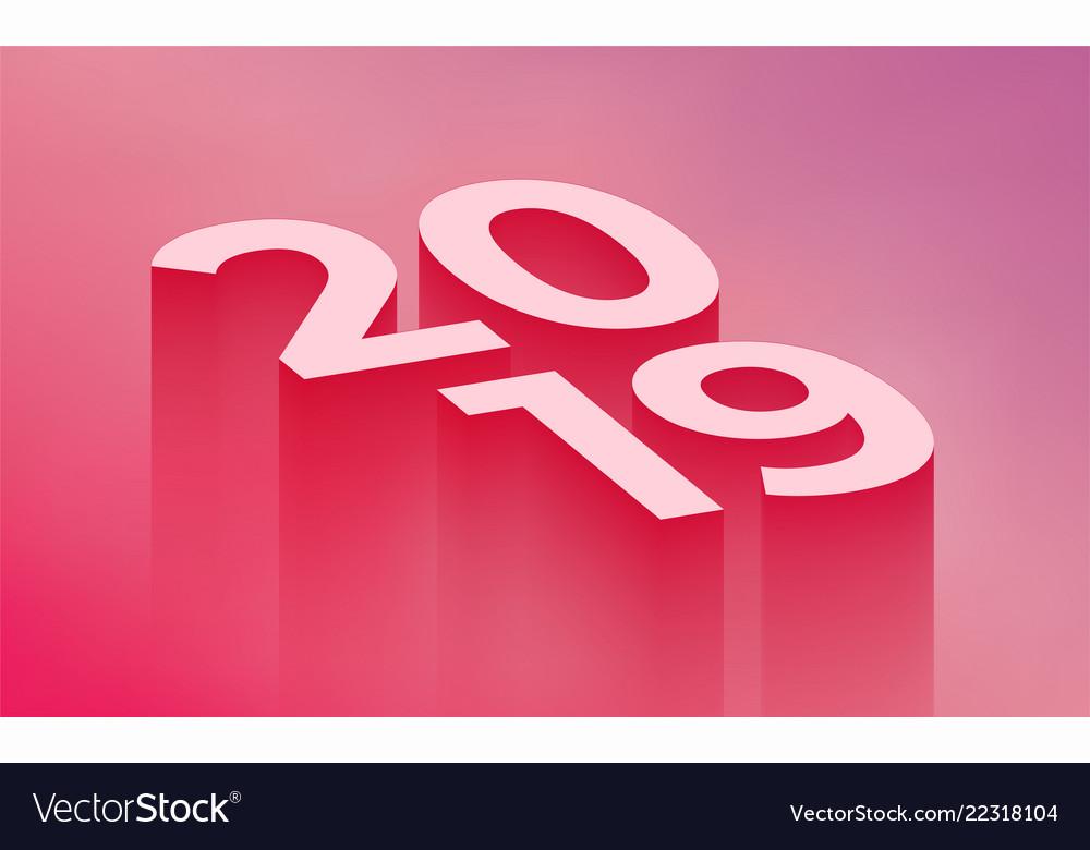 2019 new year modern