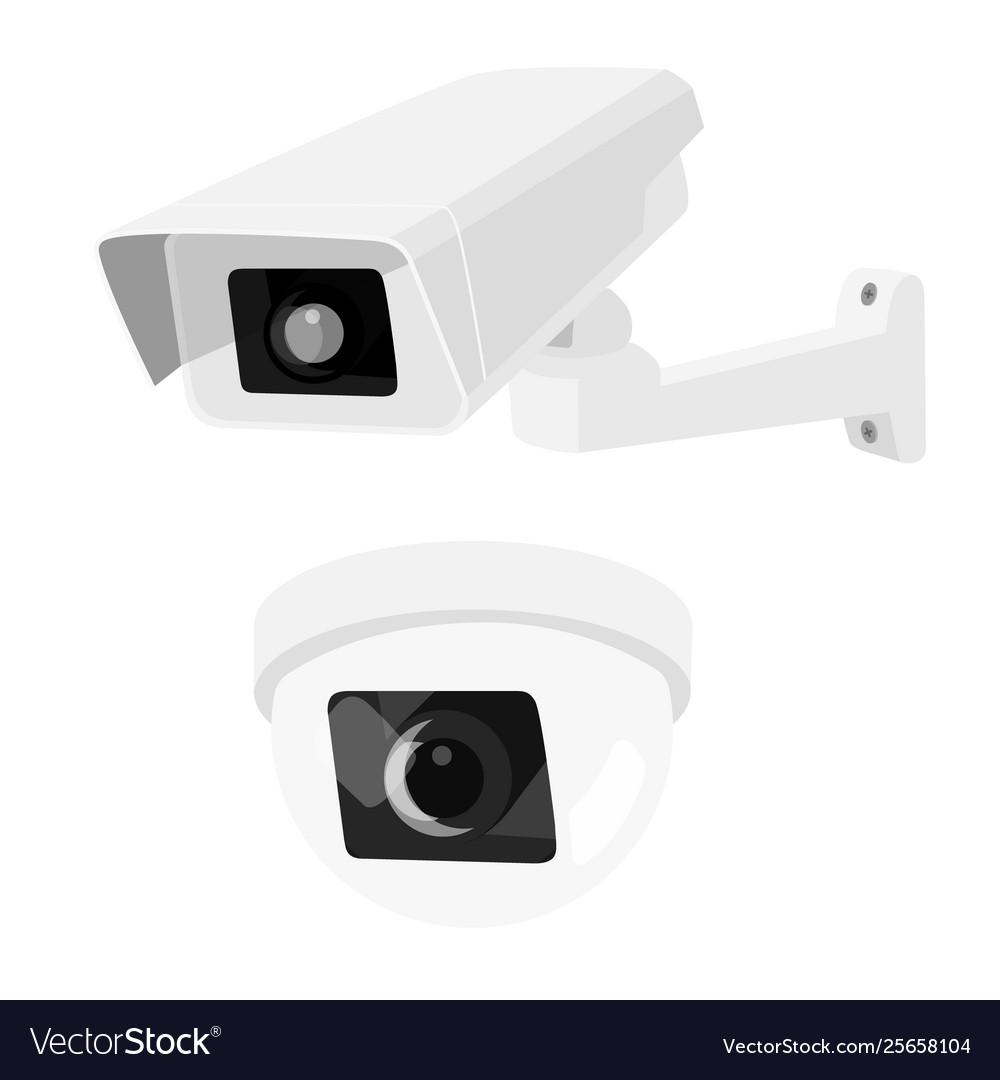 Cctv security surveillance camera set