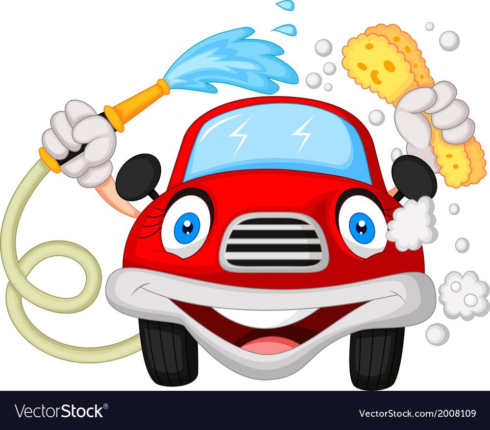 Car Wash Mascot Vector Images 14