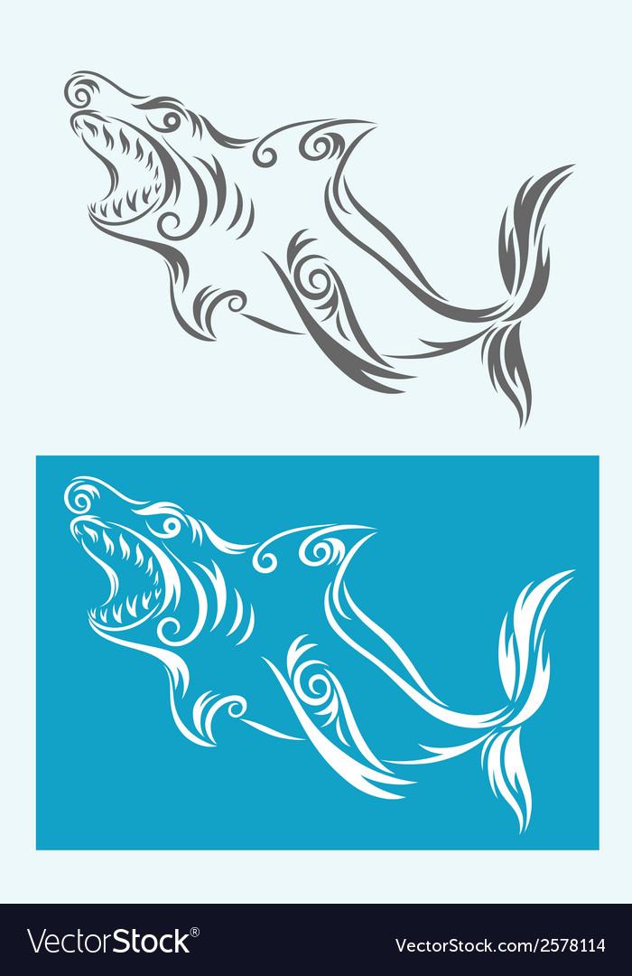 Shark tribal