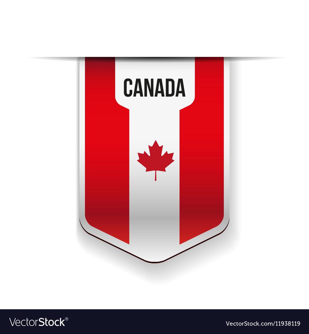 Canada flag ribbon