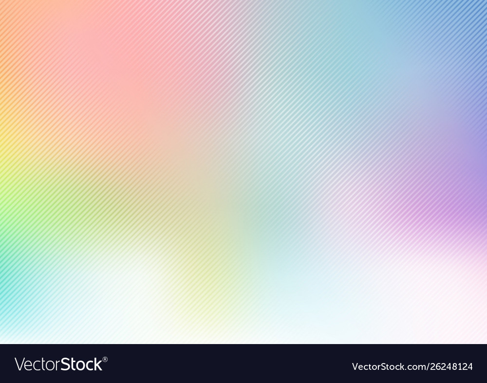 Abstract rainbow pastel blurred soft background