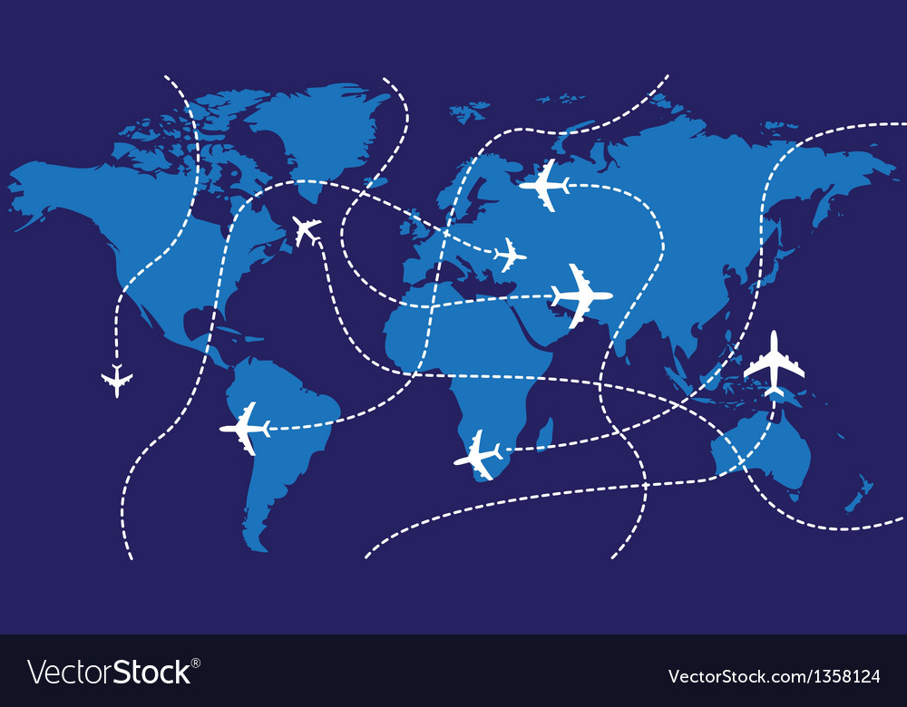 Mapping The World S Biggest Airlines Spatial Ly