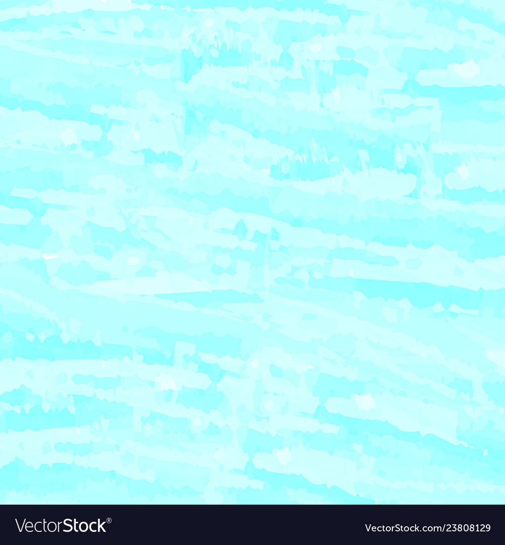 Blue watercolor abstract back clouds sky sea waves
