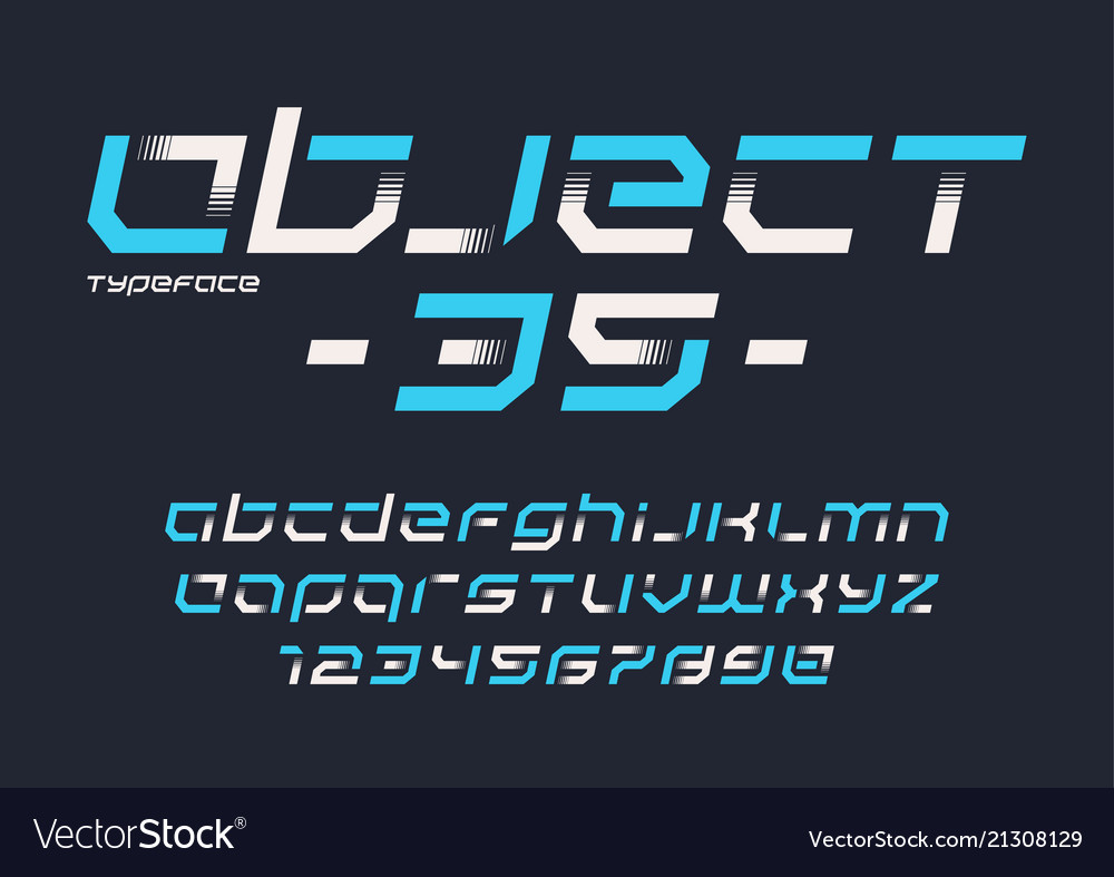 Object 35 futuristic industrial display
