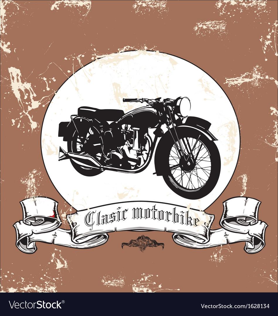 Clasic motorbike